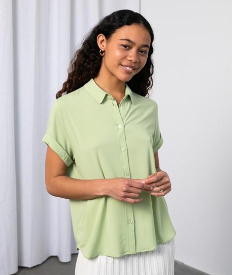 SAMSOE SAMSOE Majan S/S Bluse grün