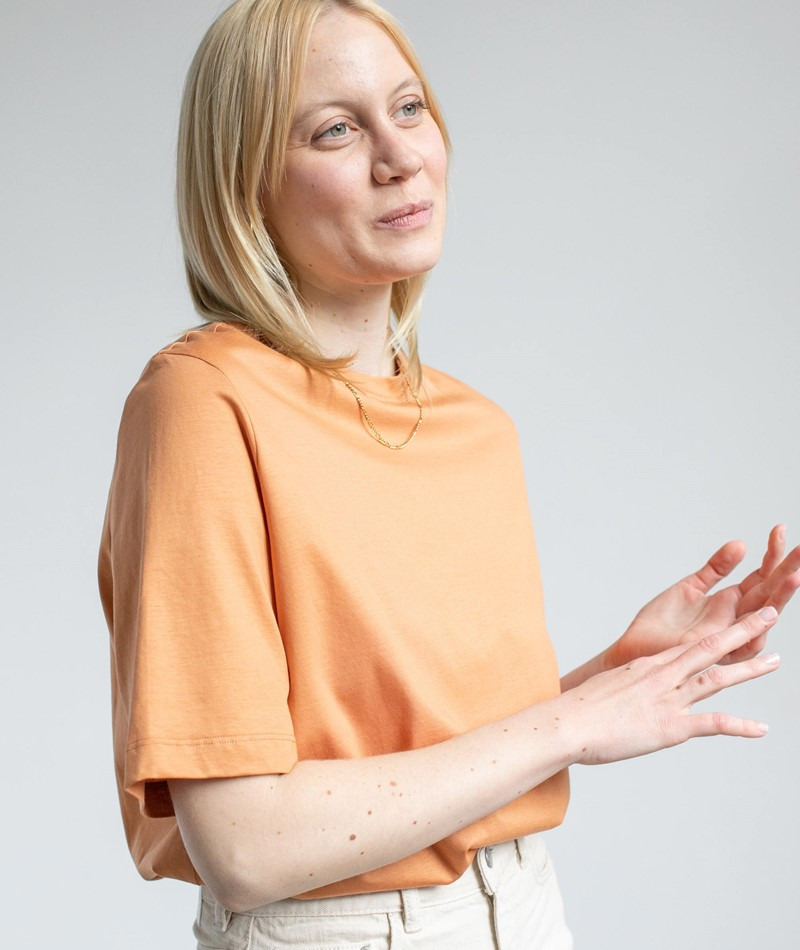 ARMEDANGELS Layaa T-Shirt orange