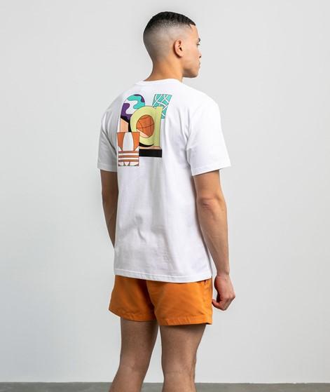 ADIDAS Still Life Summ T-Shirt weiß