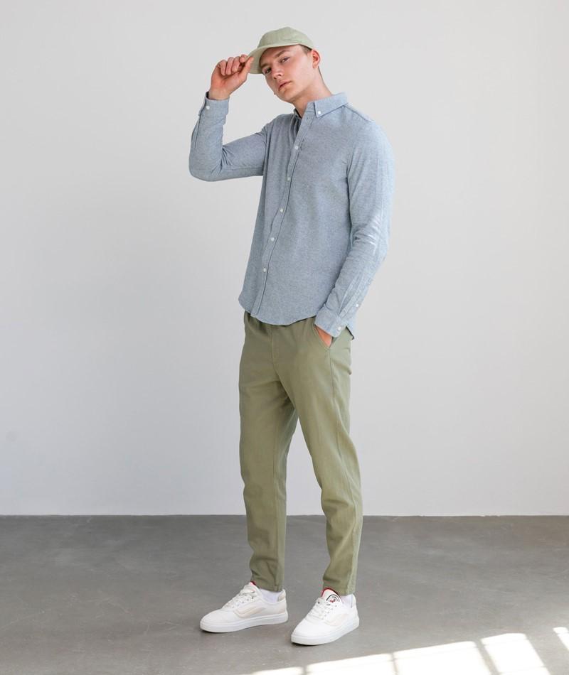 SAMSOE SAMSOE Liam BX Hemd blau