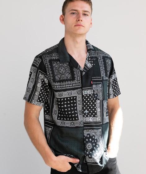 LEVIS Cubano Hemd schwarz