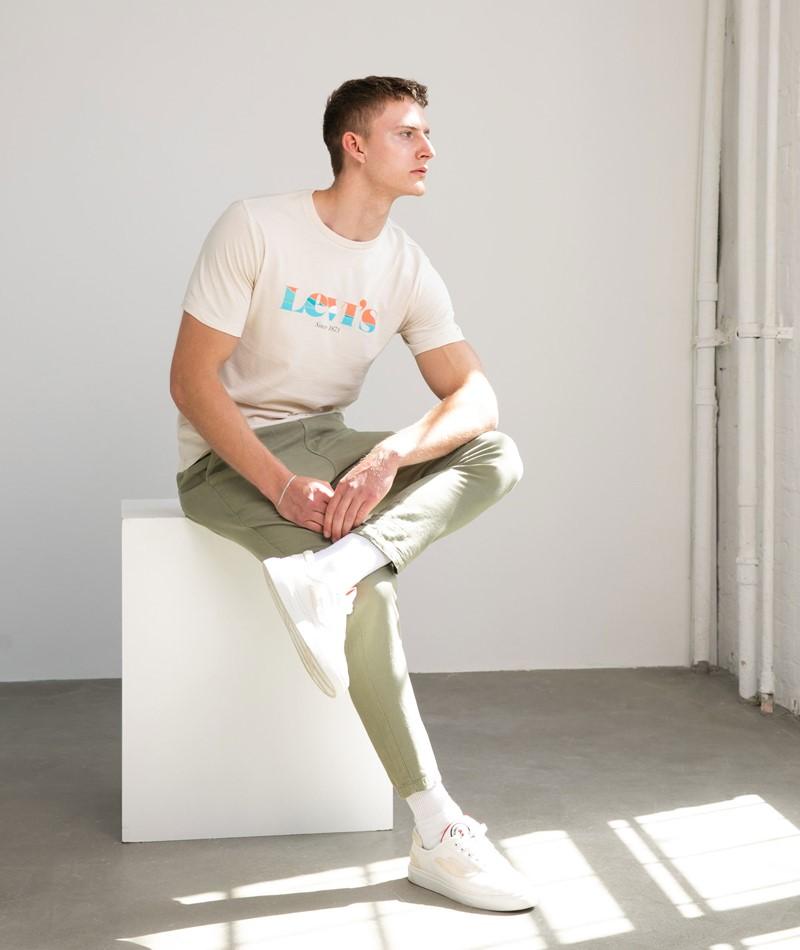 LEVIS Graphic T-Shirt beige