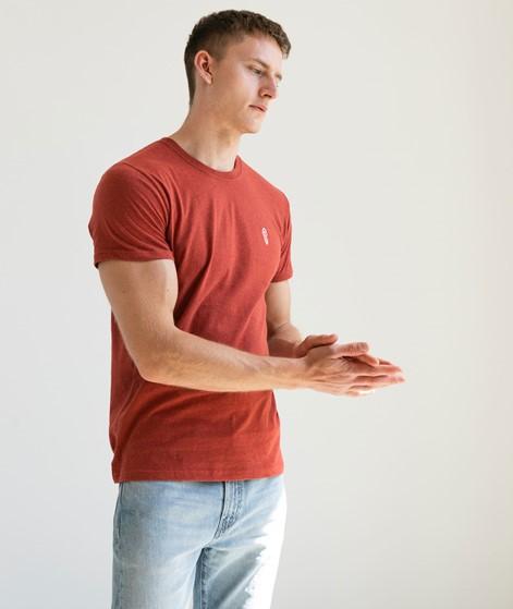 REVOLUTION Brand Label T-Shirt rot