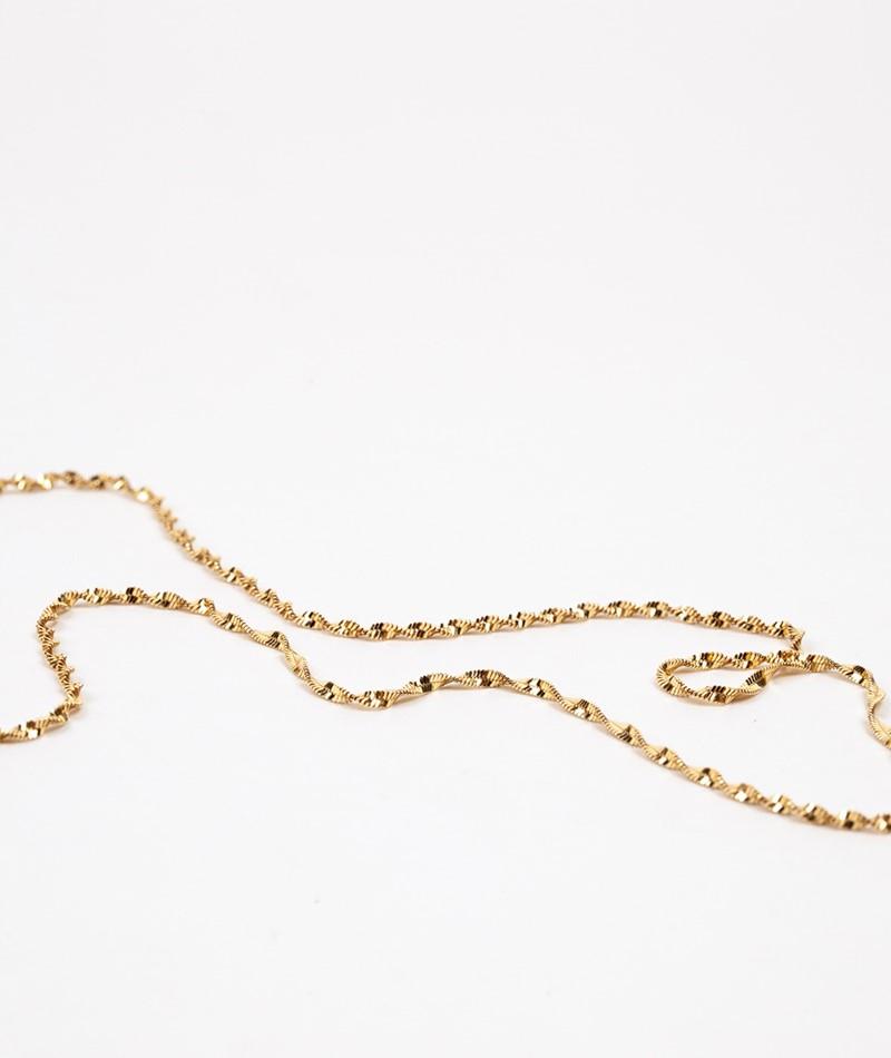 JUKSEREI Twirl Kette gold