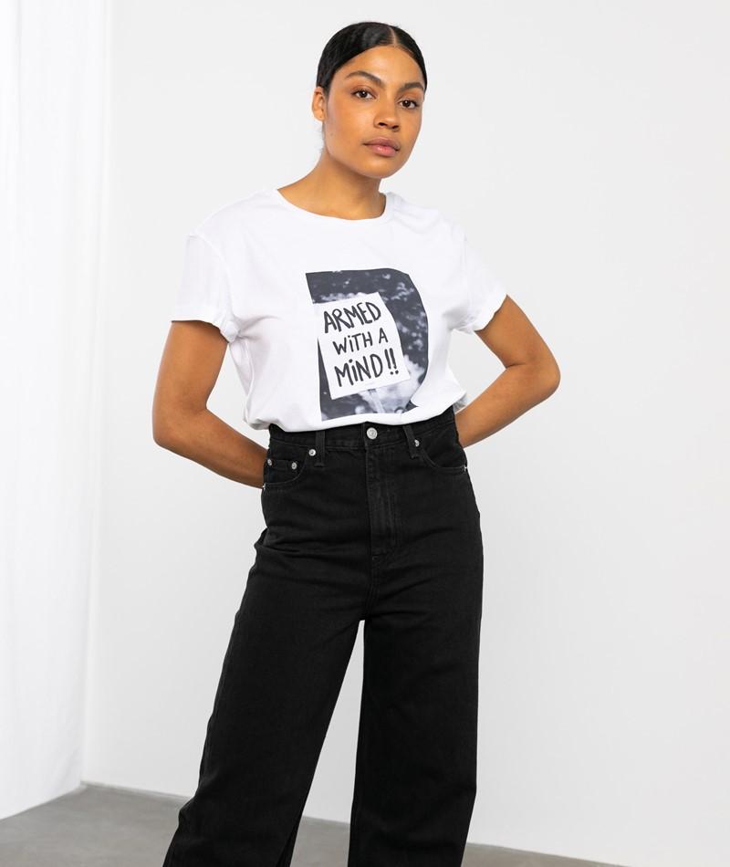 ARMEDANGELS Naalin Demo T-Shirt weiß