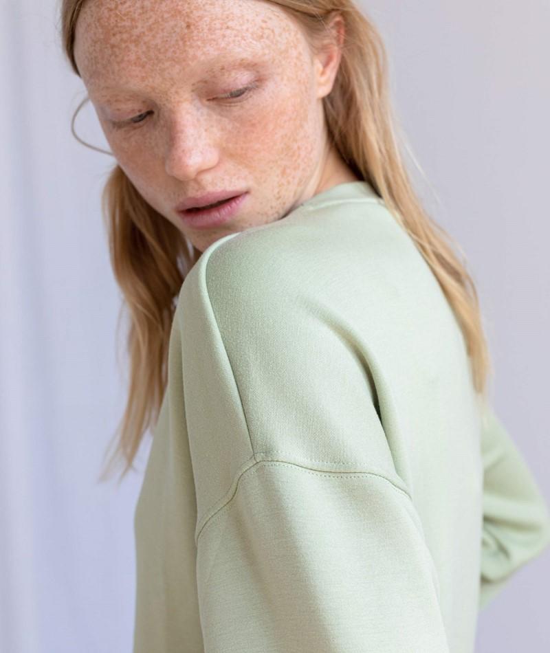 MOSS COPENHAGEN Ima Sweater grün