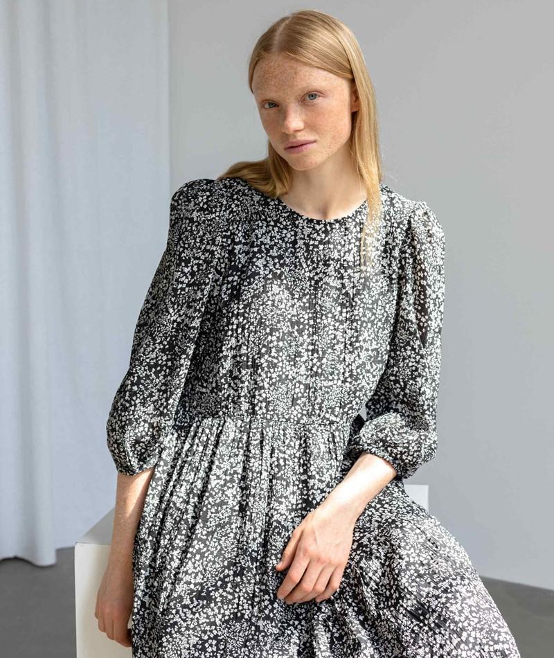 SELECTED FEMME SLFViole Midi Kleid