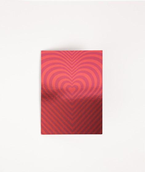 KAUF DICH GLÜCKLICH Postkarte red heart