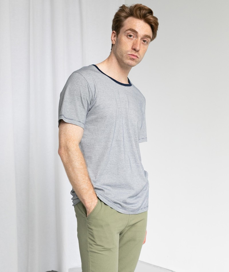KAUF DICH GLÜCKLICH T-Shirt striped