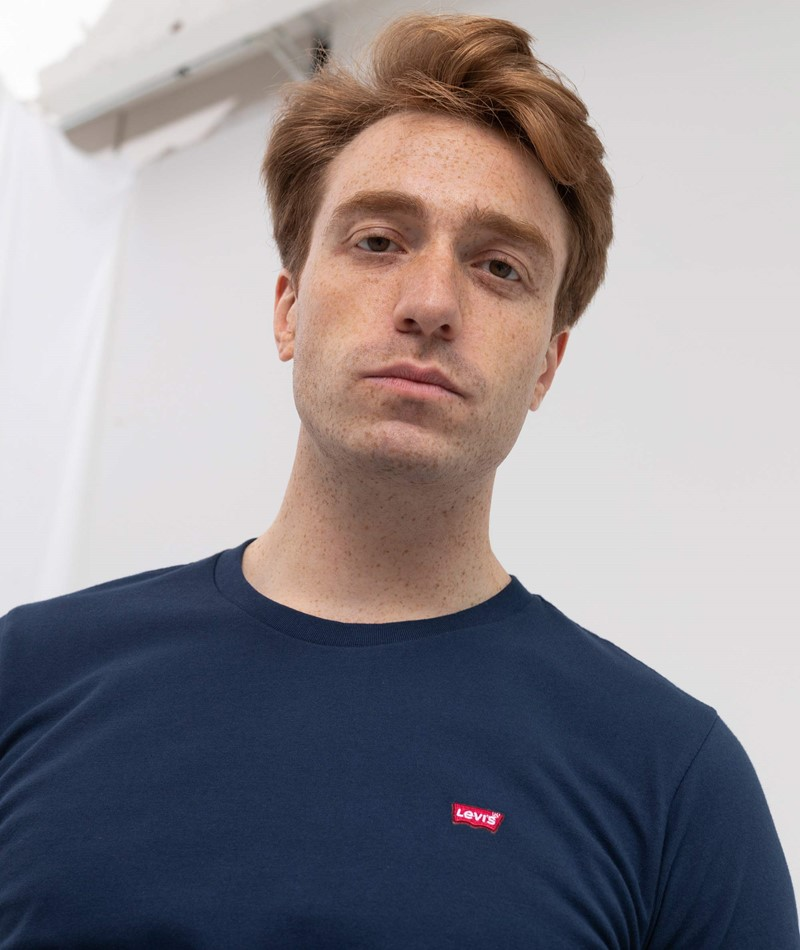 LEVIS Original HM T-Shirt blau