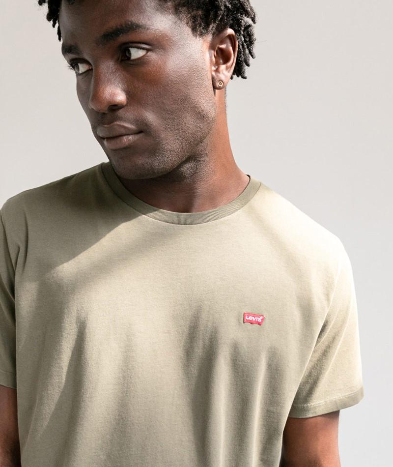 LEVIS SS Original T-Shirt khaki