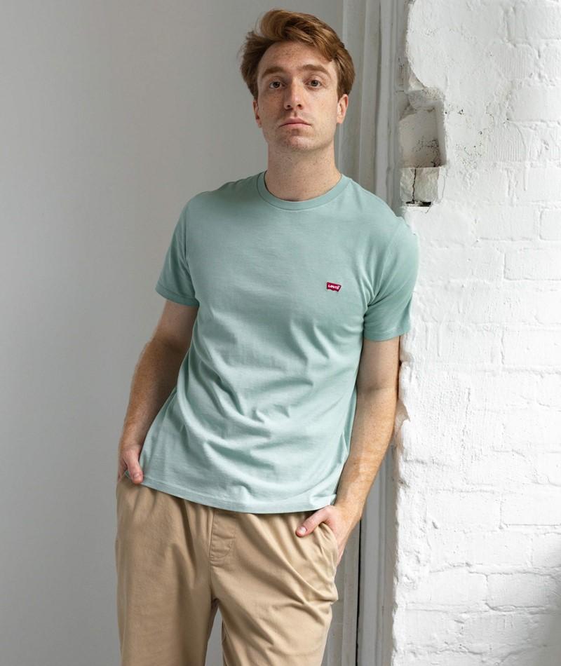 LEVIS SS Original T-Shirt grün