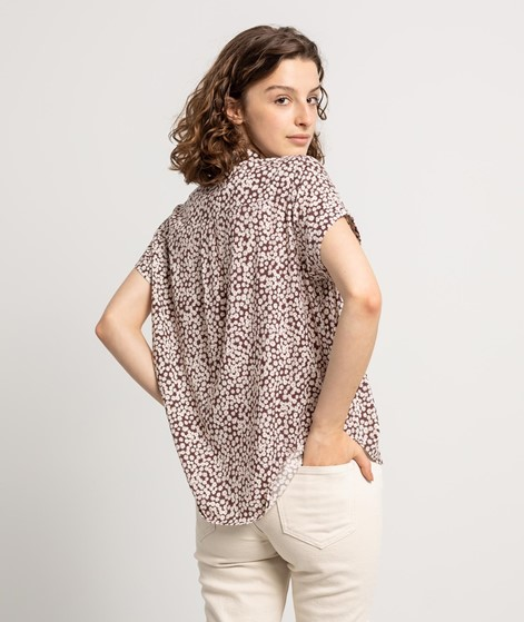 SAMSOE SAMSOE Majan S/S Bluse gemustert