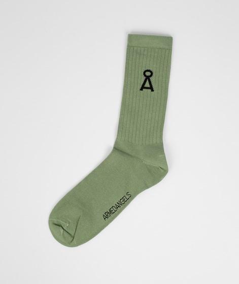 ARMEDANGELS Saamu Socken grün