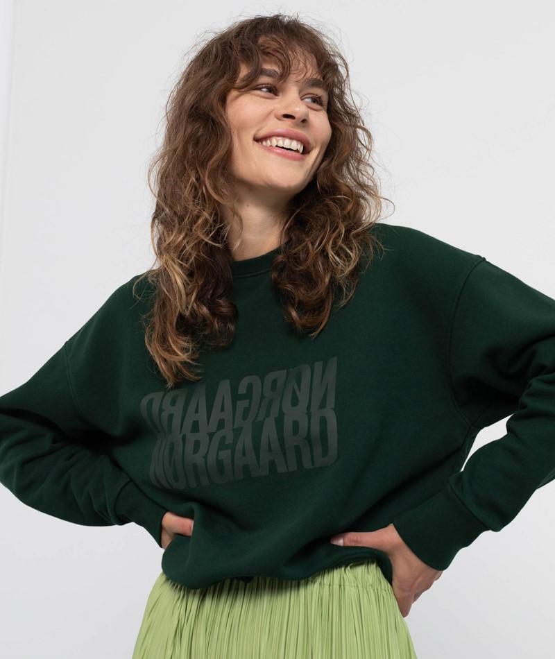 MADS NORGAARD Tilvina Sweater grün