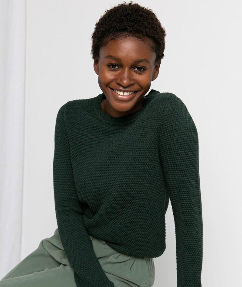 VILA VIChassa L/S Pullover grün