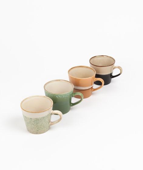 HKLIVING Ceramic Set 70`s Cappuccino Mug