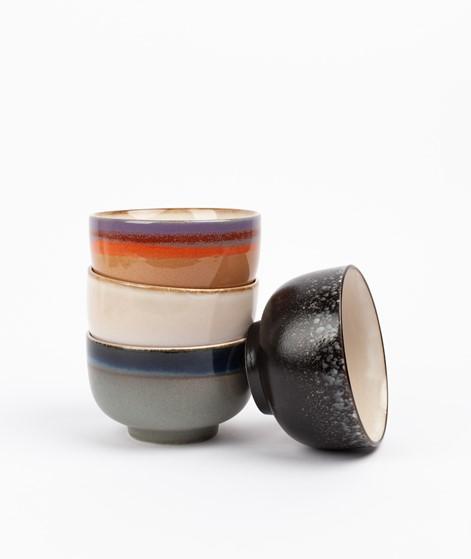 HKLIVING Ceramic Set 70`s Noodle Bowls