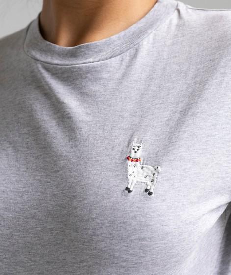 KAUF DICH GLÜCKLICH T-Shirt grau melange
