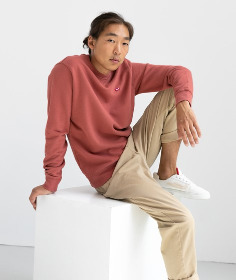 LEVIS New Original Sweater rot