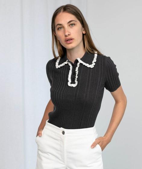 LEVIS Polo T-Shirt schwarz
