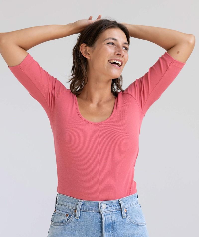 KAUF DICH GLÜCKLICH T-Shirt rose pink