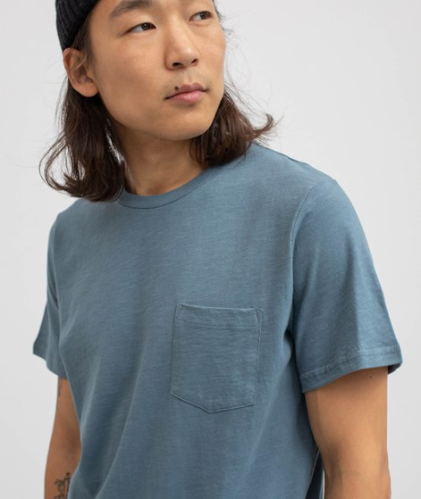 BY GARMENT MAKERS Organic T-Shirt blau