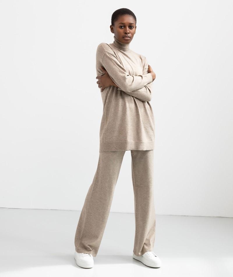 MOSS COPENHAGEN Galine Pullover braun