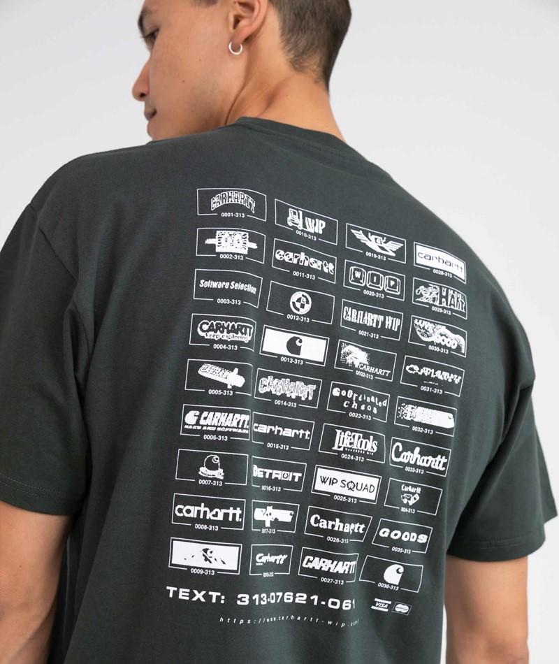 CARHARTT WIP Screensaver T-Shirt grün