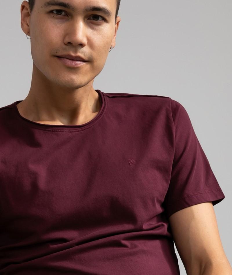 NOWADAYS Basic T-Shirt bordeaux