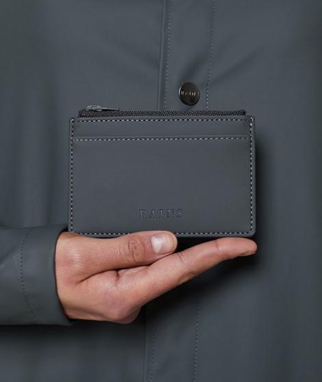RAINS Zip Wallet schwarz