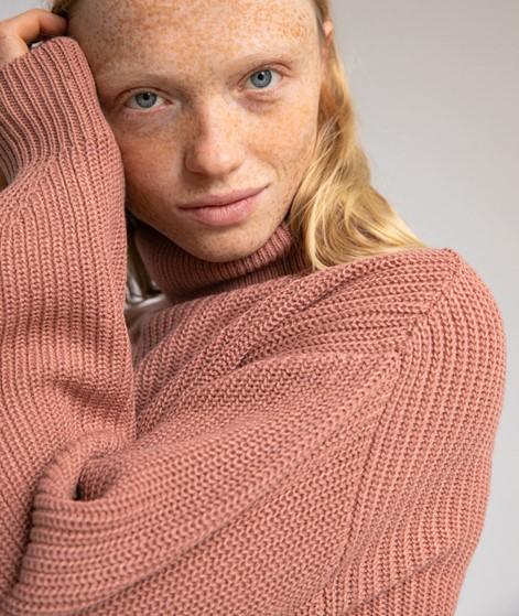 VILA VILou Rollneck Pullover rosa
