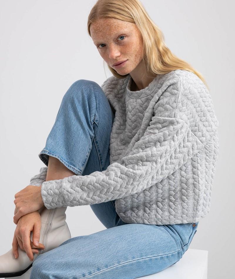 VILA VIKalimi Sweater grau