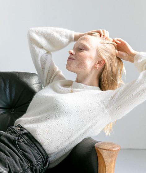 MOSS COPENHAGEN Soluna Pullover weiß