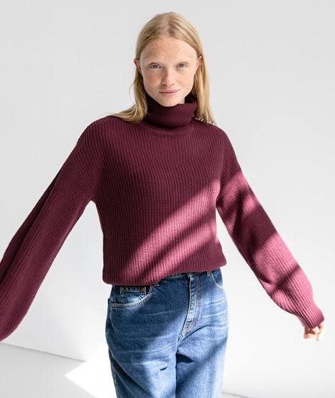 VILA VILou Rollneck Pullover bordeaux