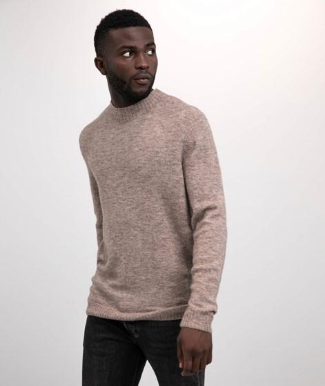 NOWADAYS Boild Wool Pullover braun