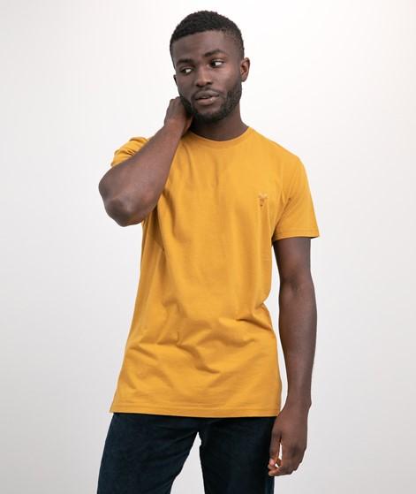REVOLUTION Regular T-Shirt gelb
