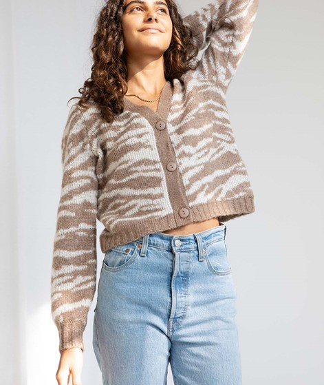 VILA VIEllie Knit cardigan print