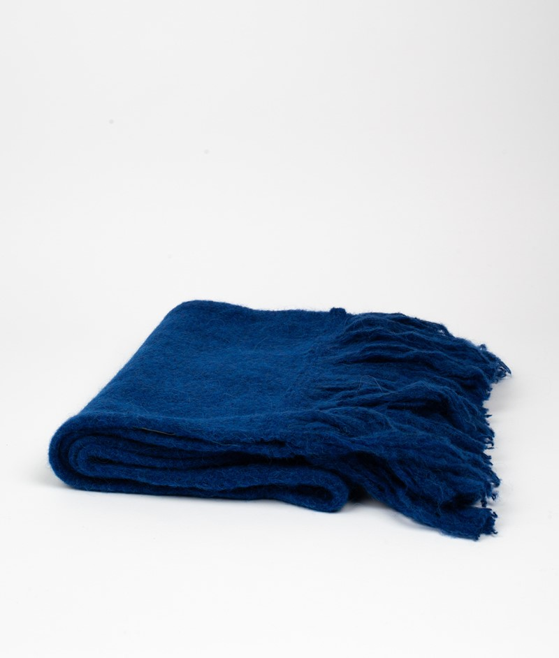 MADS NORGAARD Alana Schal blau