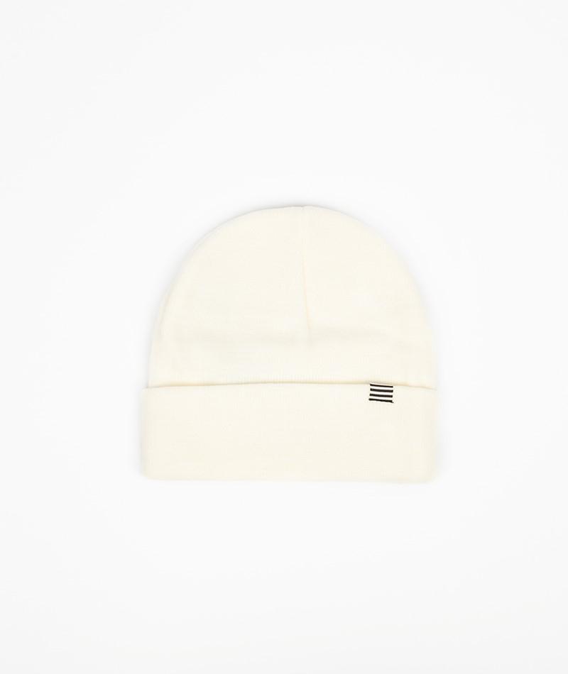MADS NORGAARD Ambas Mütze weiß