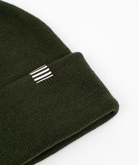 MADS NORGAARD Ambas Mütze grün