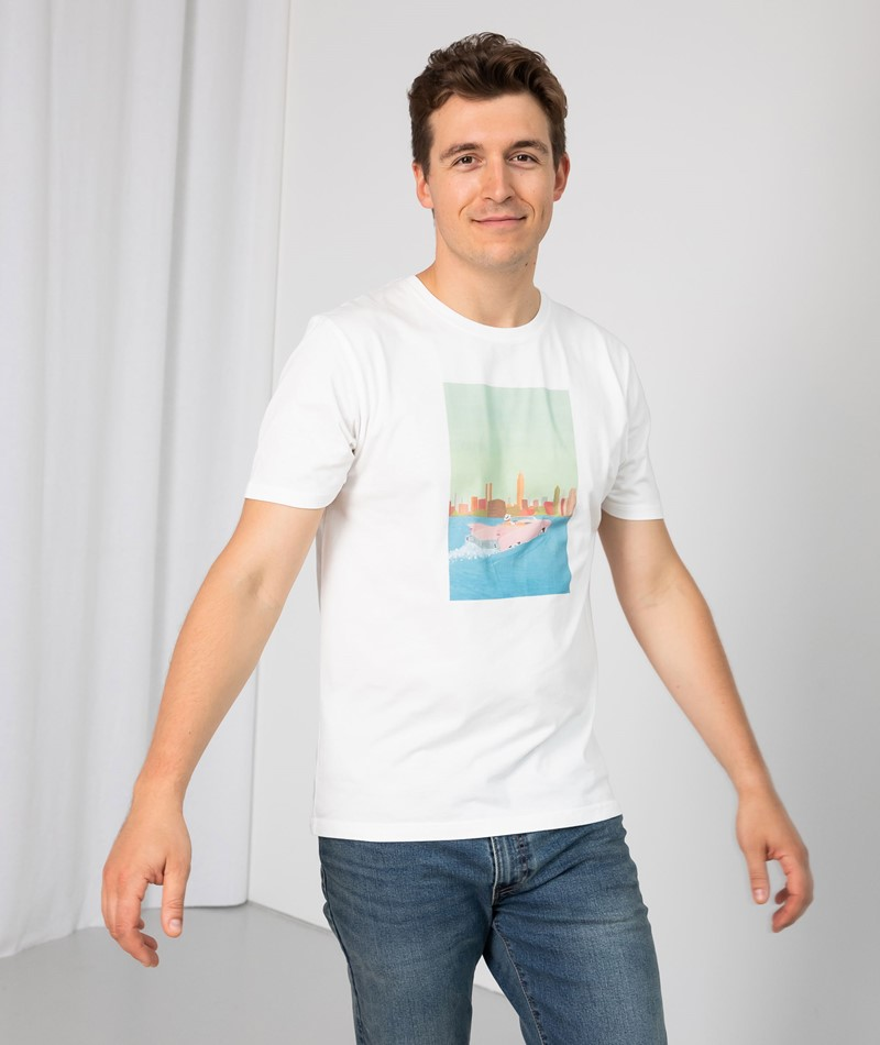 OLOW Amphibie T-Shirt gemustert