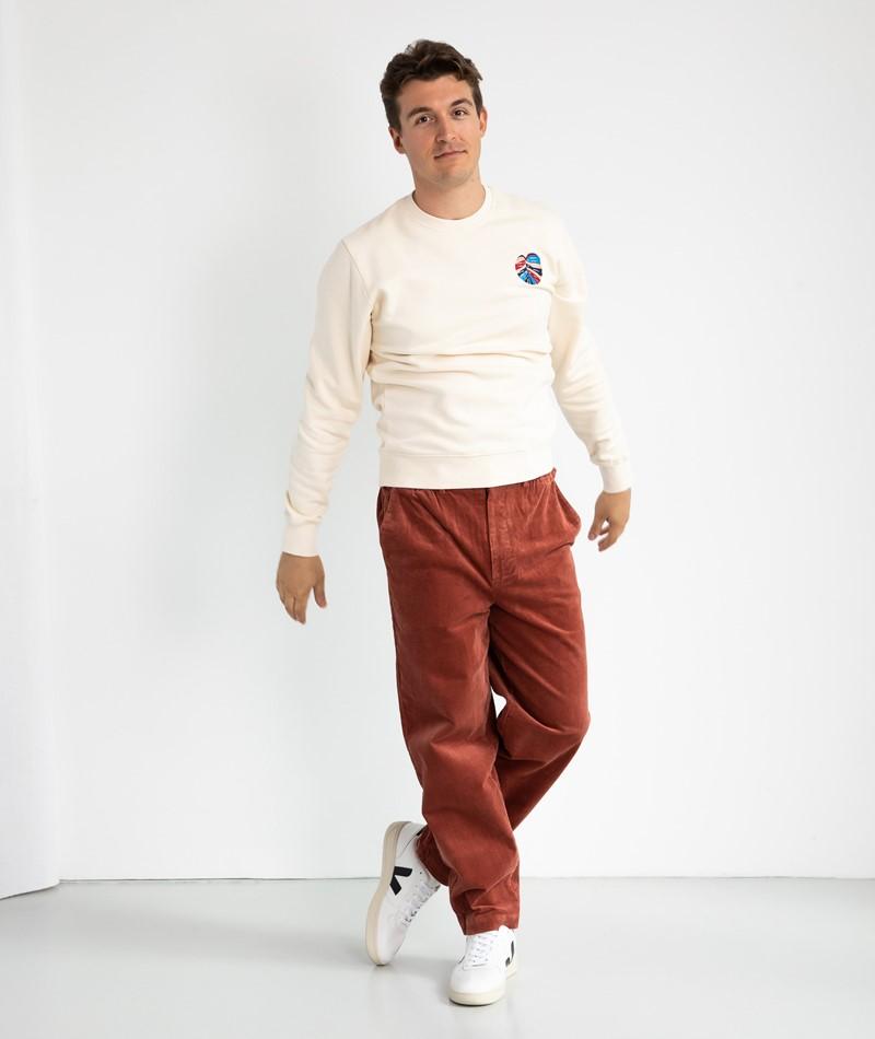 OLOW Monstera Sweater weiß