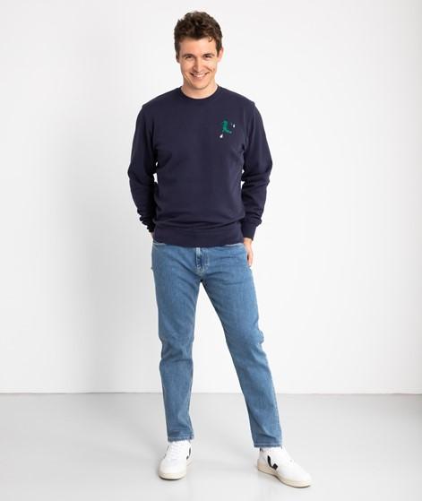 OLOW Crococo Sweater dunkelblau