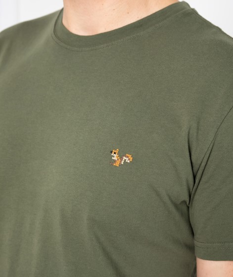 REVOLUTION Regular T-Shirt grün