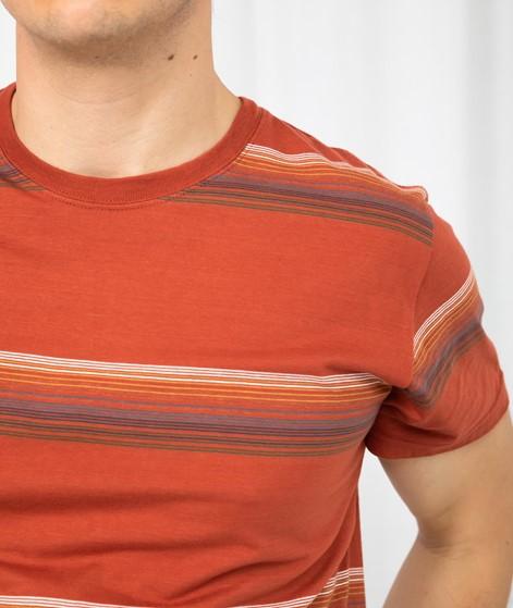 REVOLUTION Regular T-Shirt gestreift
