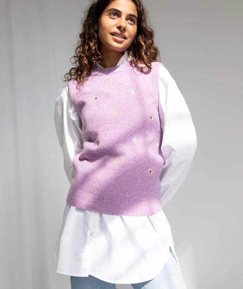 MBYM Frederika Embroidery Pullunder