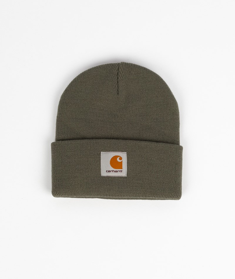 CARHARTT WIP Short Watch Hat mint