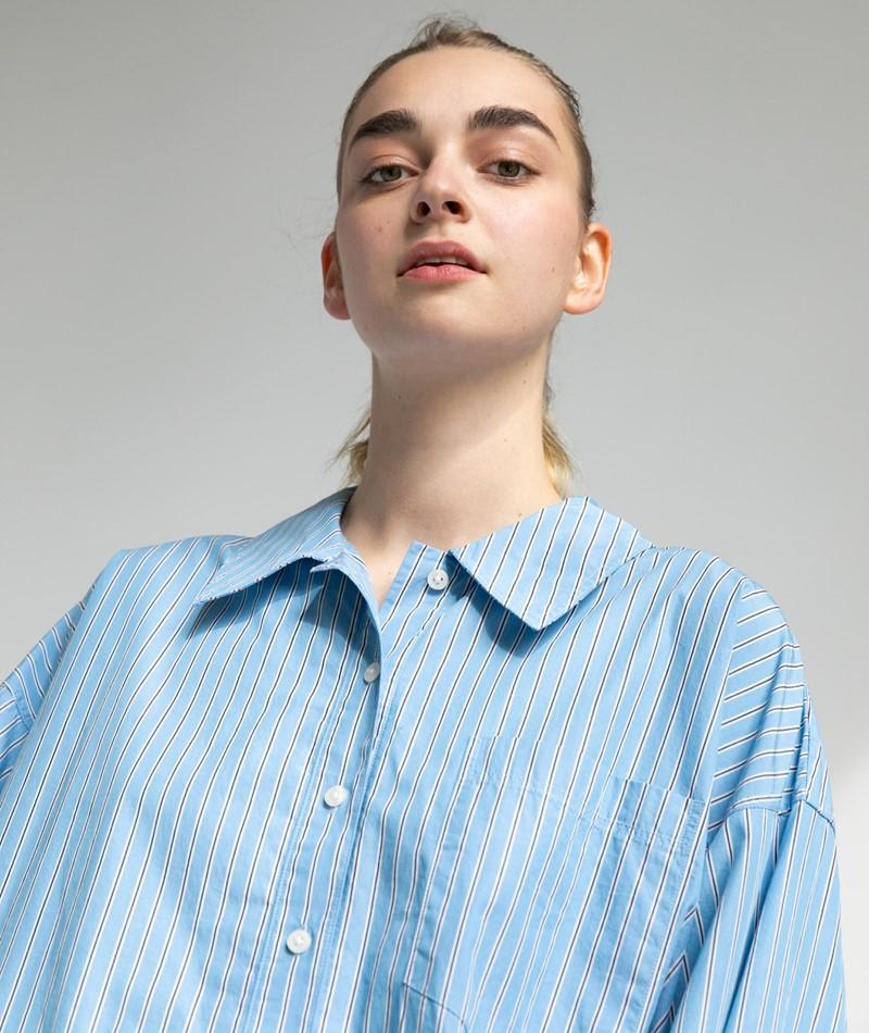 SAMSOE SAMSOE Arielle Bluse blau