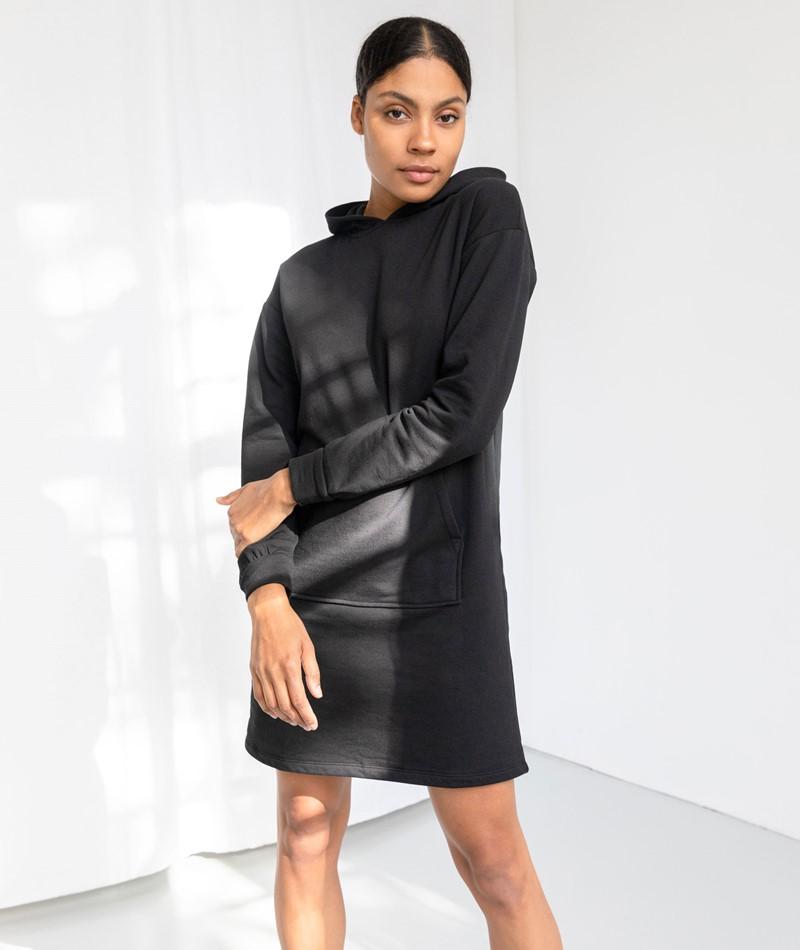 VILA VIRust L/S Kleid schwarz